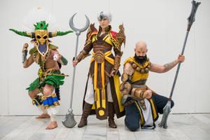 Swedish Diablo III cosplay group