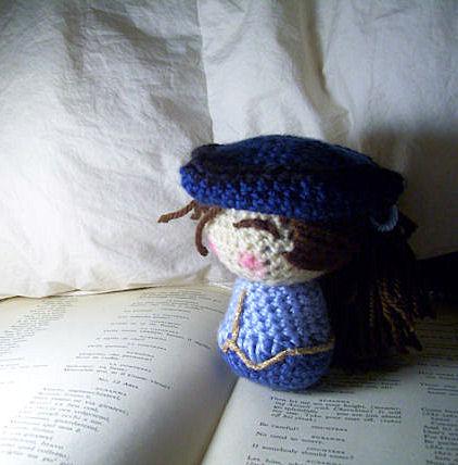 Crochet Cherubino by Dyelshi