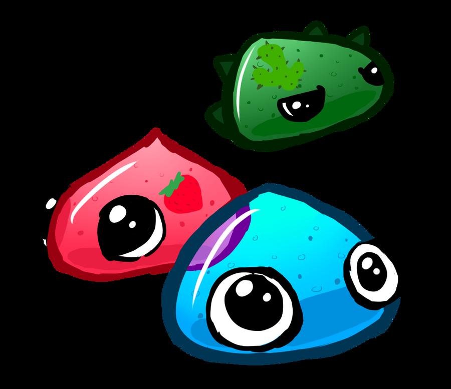 Slimes by LizardBat