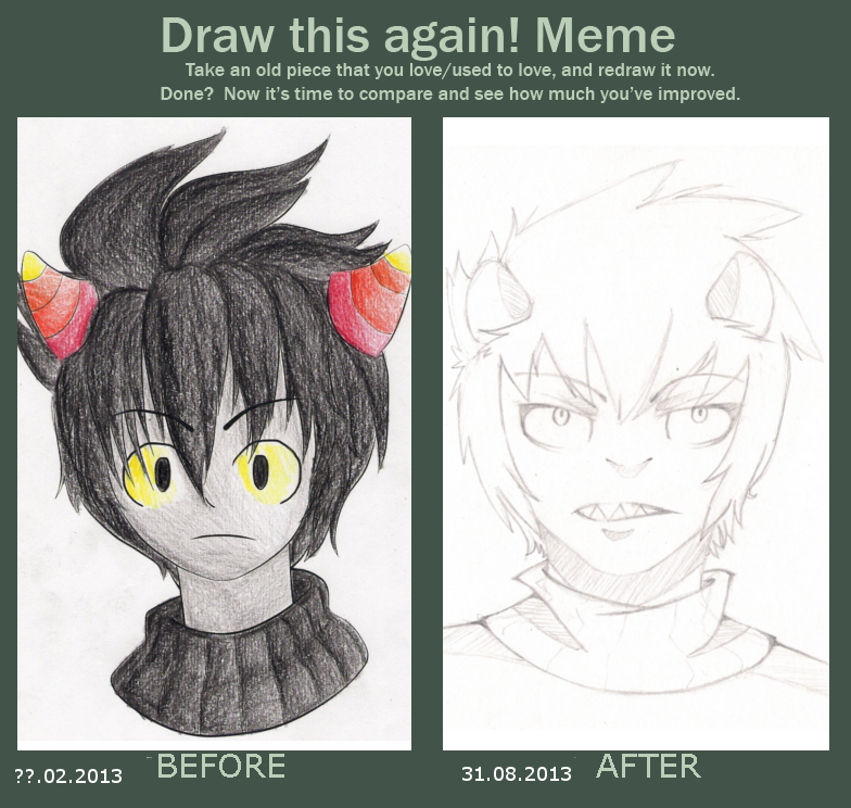Meme before and after by FamousPenguin