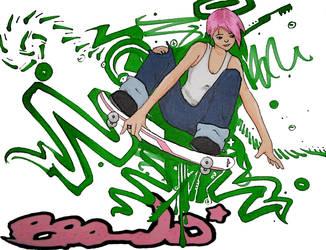 pink by Bleu-Flamme
