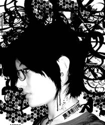 greyscale mind by Bleu-Flamme