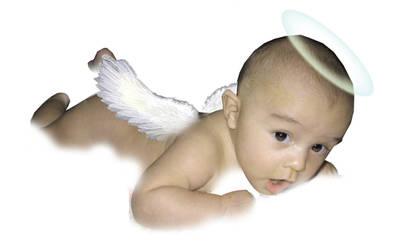 my little angel by Bleu-Flamme