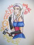 Crystal, the smith by MikaniaC
