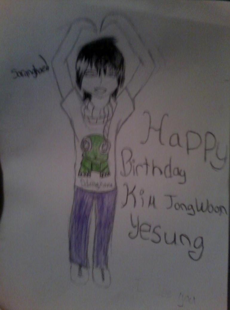 Happy birthday Yesung by sharkgirl98