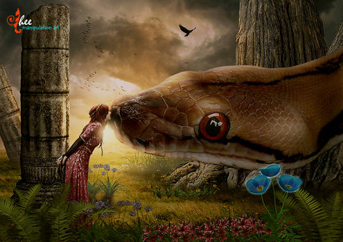 Fairy Tales_Giant Snake - dheean