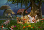 Fairy Tales_Lonely Fairy - dheean