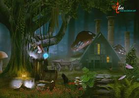 Magic Spell Book - dheean by dheean