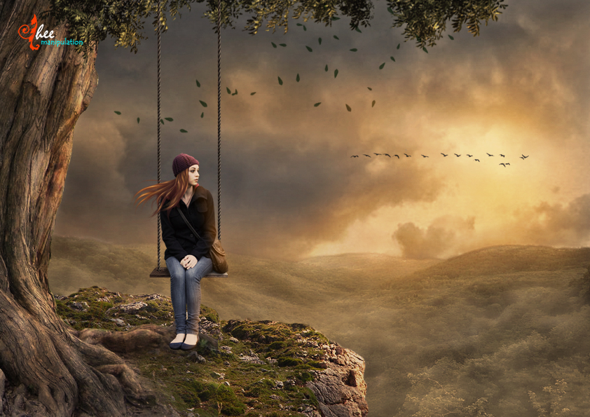 Lonely Girl Dheean By Dheean On Deviantart