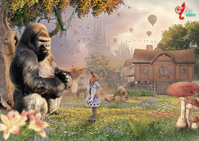 Alice and Gorilla - dheean by dheean