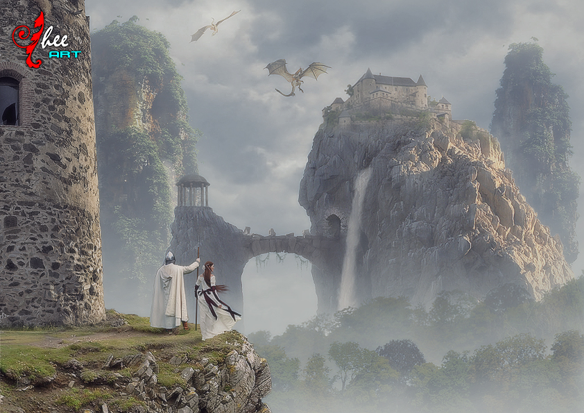 Castle and dragon - dheean