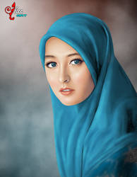 Beautiful Hijab - dheean by dheean