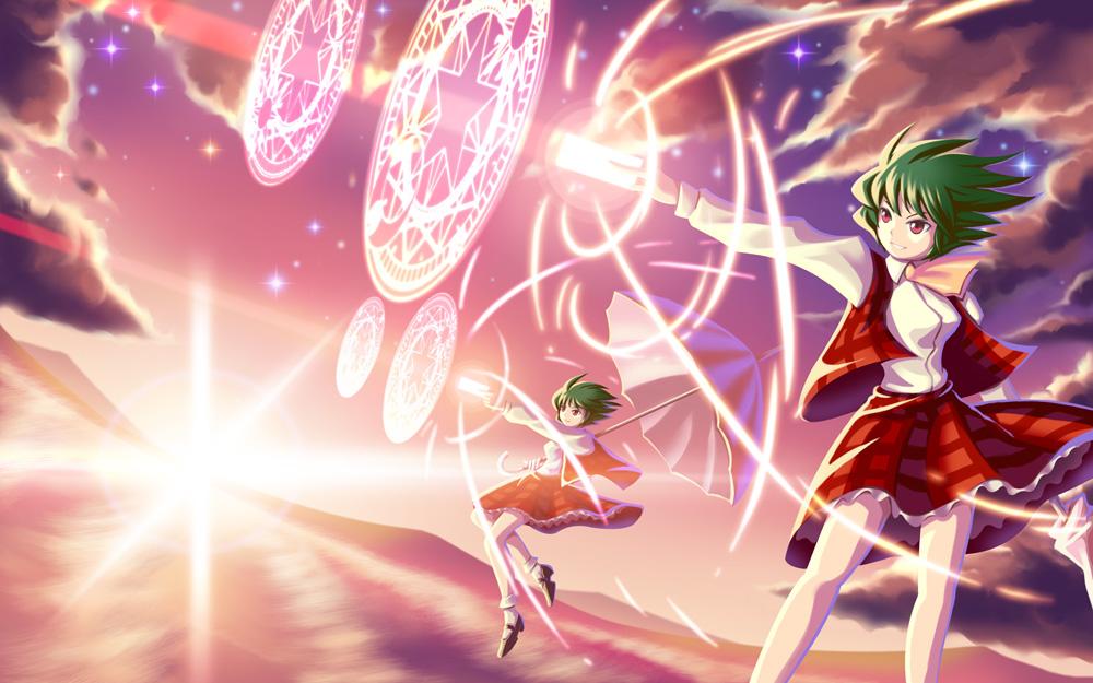 Touhou Yuuka by StarbowBreak