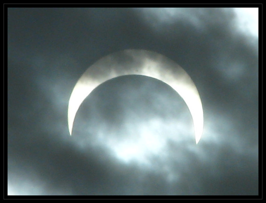 Perspective - Annular Solar Eclipse - May 20, 2012