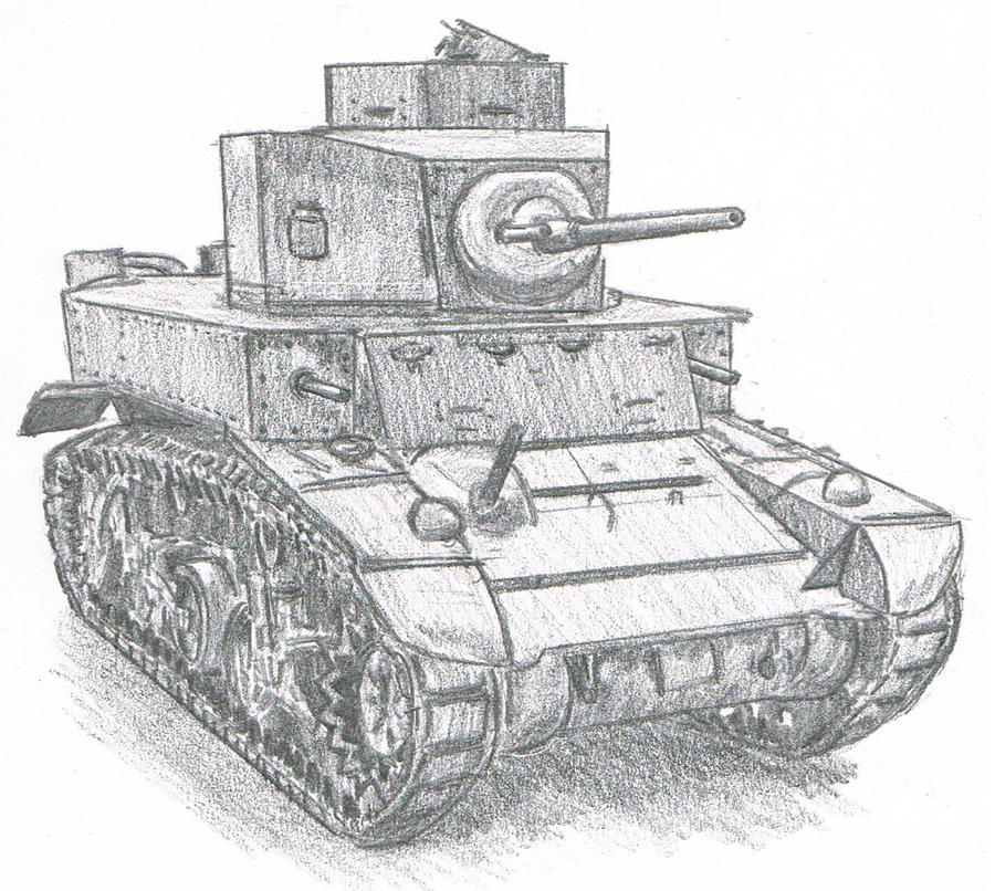 M3 Stuart by TimSlorsky