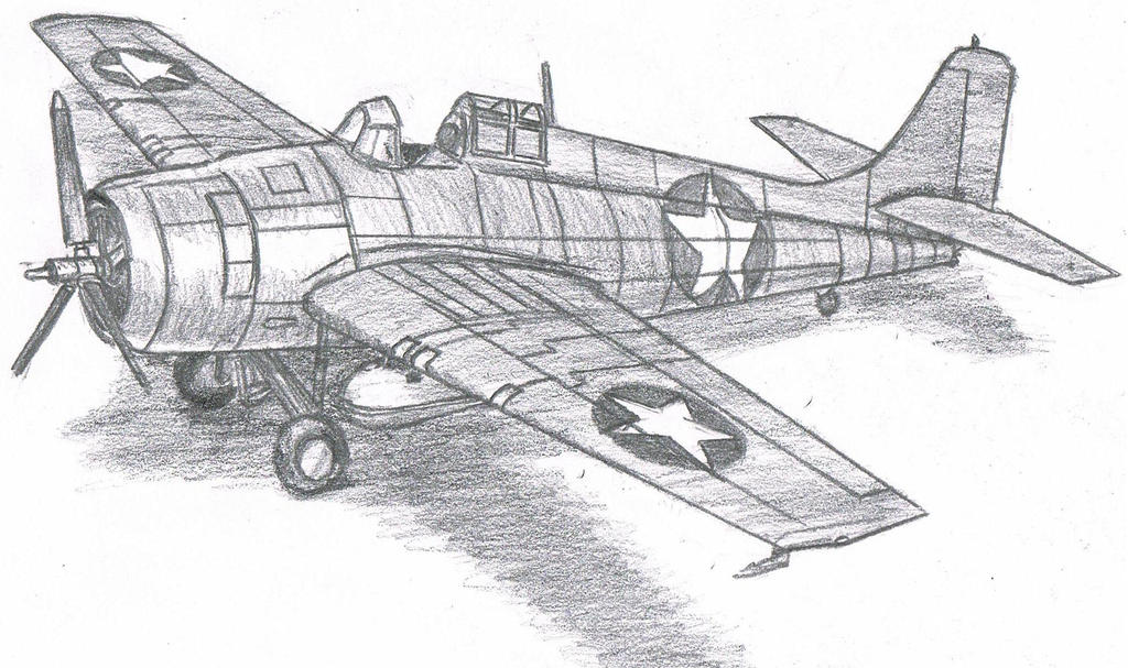 Grumman F4F Wildcat by TimSlorsky