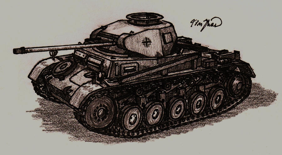 Panzer II by TimSlorsky