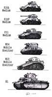 Aldinian Tank Models
