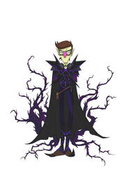 Waluigi The Battlemage by TheAnimationGod