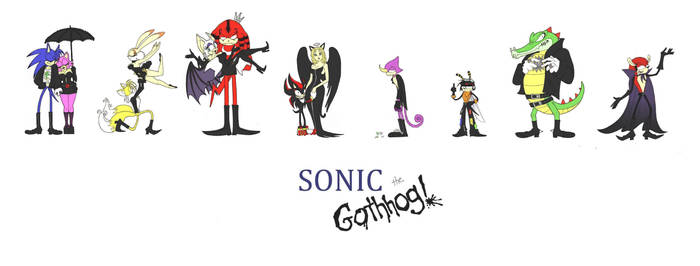 Sonic the Goth Hog Continuation