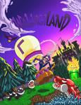 Waluigi Land Original Front Cover