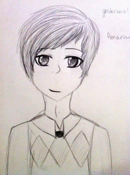genderbent amariso maybe sketch thing