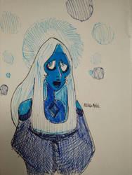Holy Merry Blue Diamond