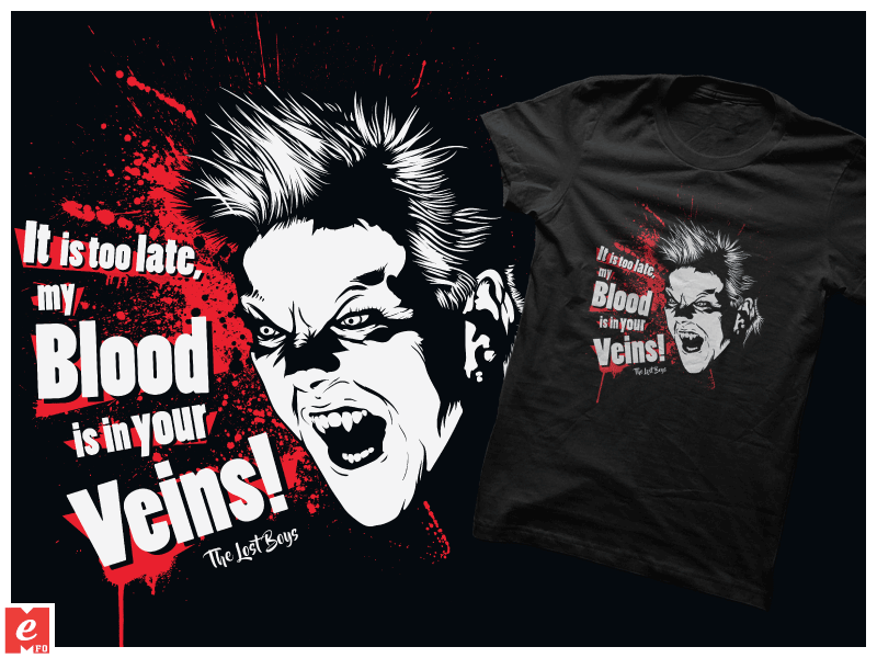 The-Lost-Boys Movies-quote T-Shirt Vampires Cool G By