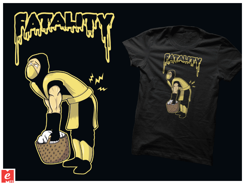 Fatality Scorpion Mortal-Kombat Funny T-Shirt Cool By
