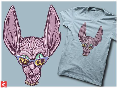 kohona-cat cat sunglasses cool shirt tshirt MeFO g