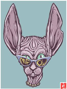 Kohona Cat Cat Sunglasses Cool Shirt Tshirt Cool S