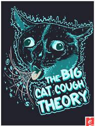 Cat Cough The Big Bang Theory Shirt Cat Shirt Cool by MrMeFO