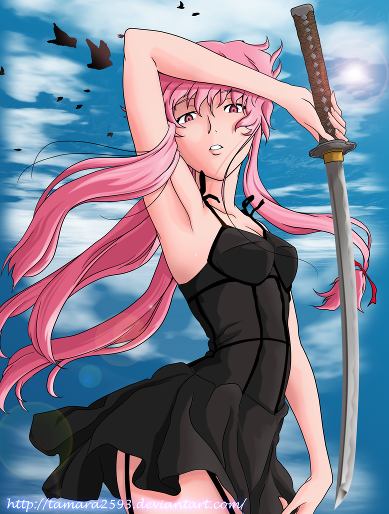 Gasai Yuno - Mirai Nikki by tamara2593