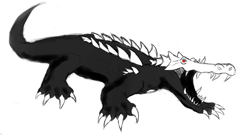 OC Crocodile Grimm RWBY By AlphamusPrime On DeviantArt