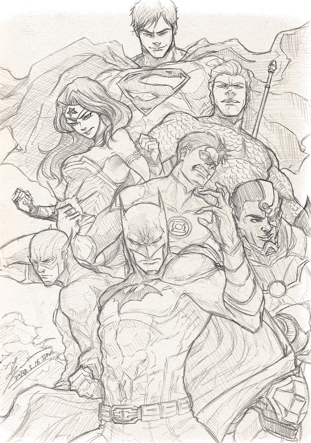 Justice League Sketch By Tryvor On Deviantart Research sales history of all cgc & cbcs grades. justice league sketch by tryvor on