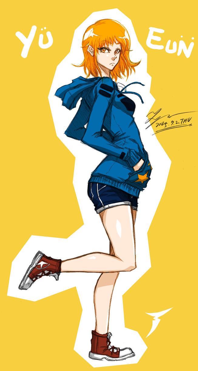 Yu Eun by tryvor