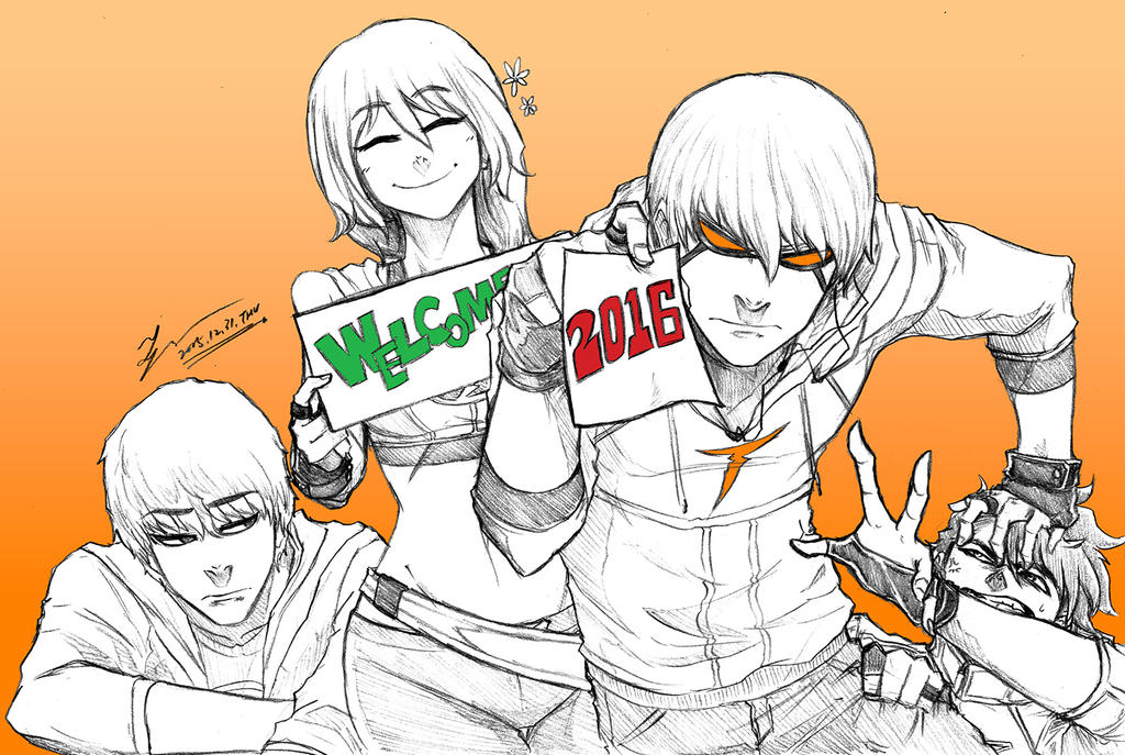 WELCOME 2016 by tryvor