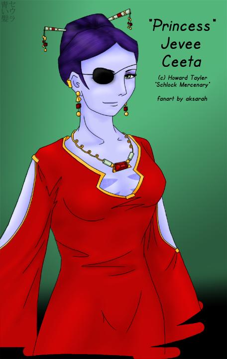 Princess Jevee Ceeta by aksarah