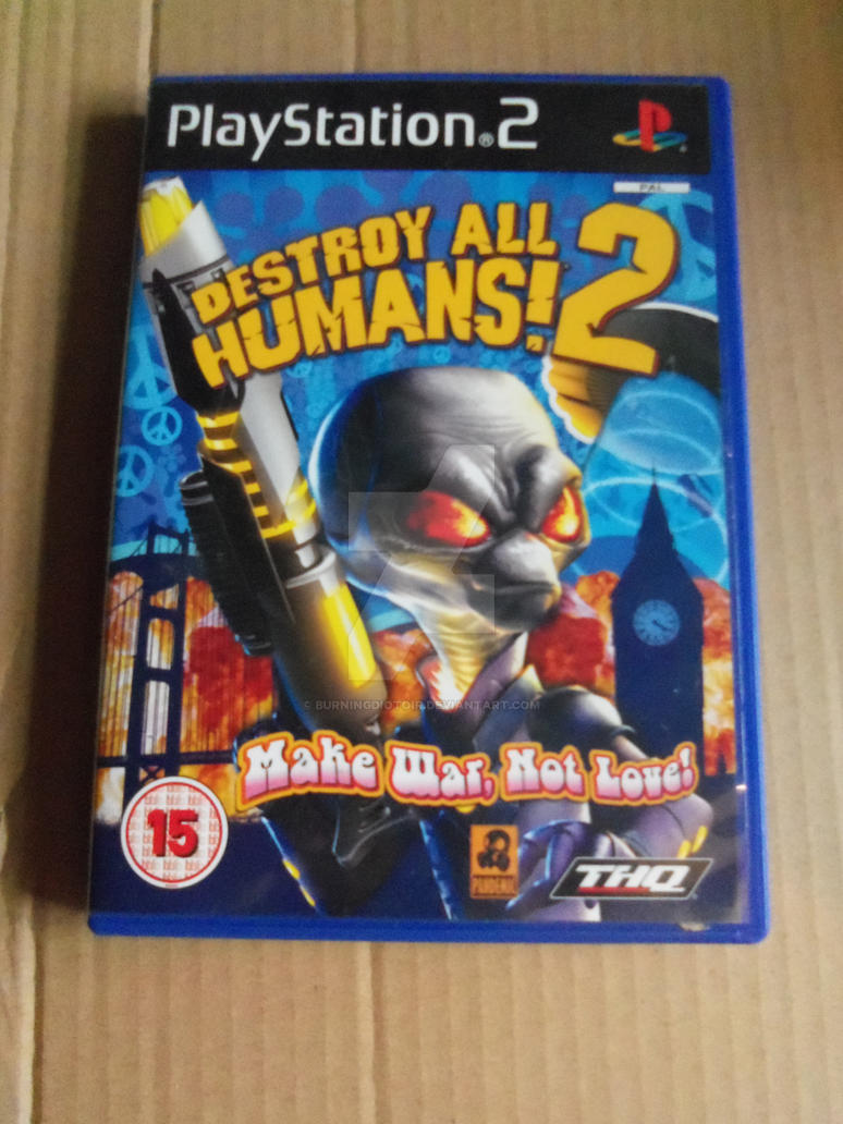 destroy all humans 2 hentai