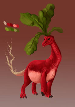 Radish dragon Adopt [OPEN]