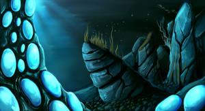 Different planet different underwater
