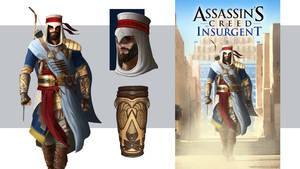 Nasru: Babylonian Assassin by Conceptibot