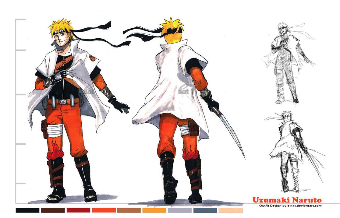 Naruto The Last Character Design Color : Design naruto by e nat on deviantart