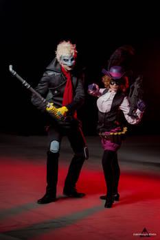 Persona 5 Mission Start! - Ryuji and Haru Cosplay