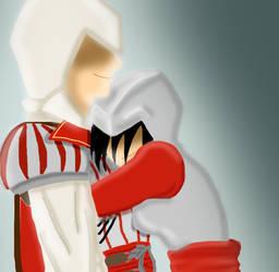 Friendly Hug by ITZELDRAG108