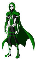 Green Lantern Anarky by ITZELDRAG108