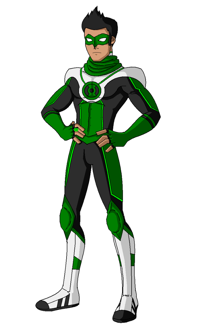 Green Lantern Young Justice Green lantern kyle raynerYoung Justice Kyle Rayner