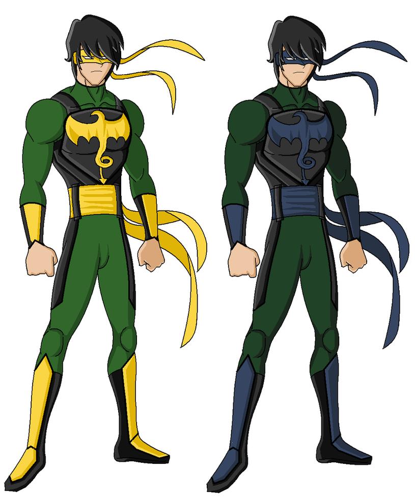 Green Goblin 2014 Suit Dark Iron Fist by ITZE...