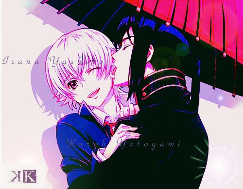 Kuro e Shiro by SparkOfShadows