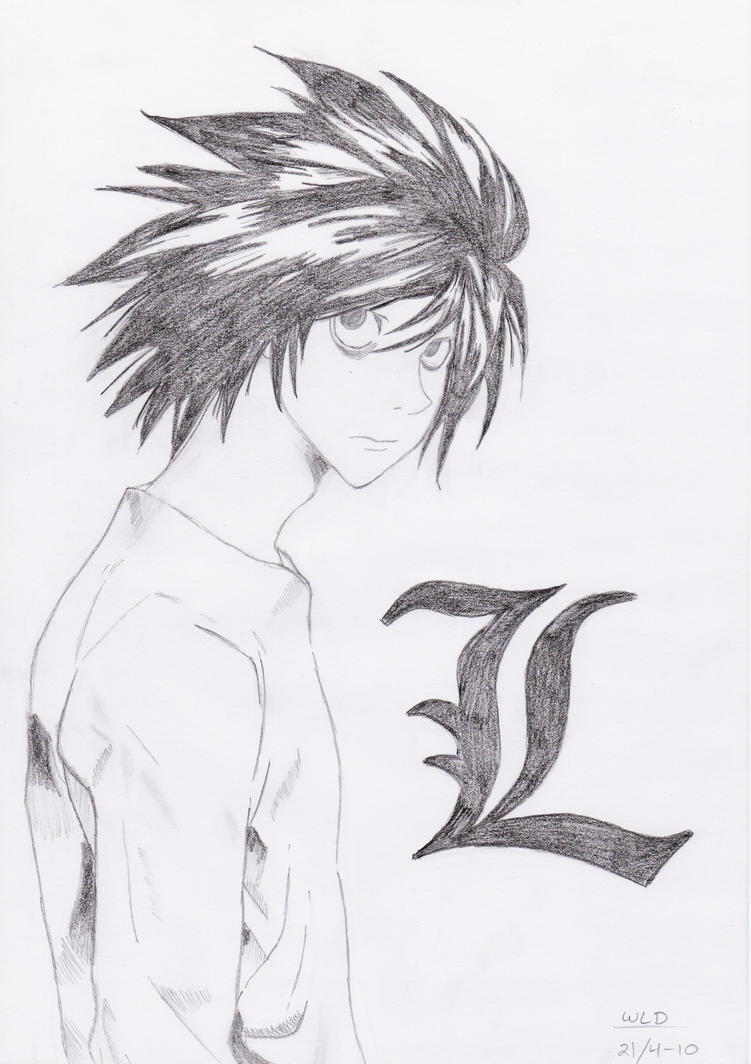 L. Lawliet by WhiteLillyDragonfly